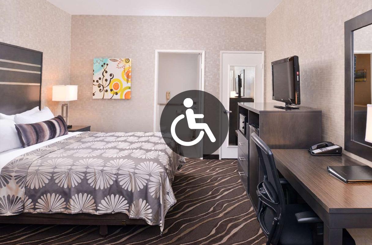 Handicap Accessible Room Park Place Inn Mini Suites